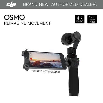 DJI Osmo Handheld 4K Camera SteadyGrip & 3-Axis Gimbal - Brand New