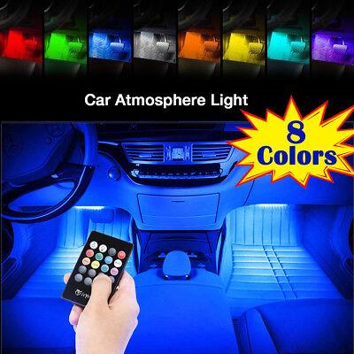 LED Interior Car Styling Foot Floor RGB Decorative Atmosphere Inside Neon Light