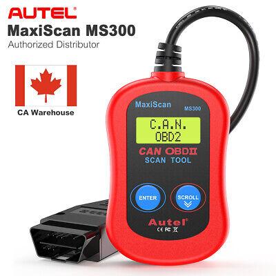 Autel MaxiScan MS300 OBD2 Engine Fault Code Reader Scanner Auto Diagnostic Tool