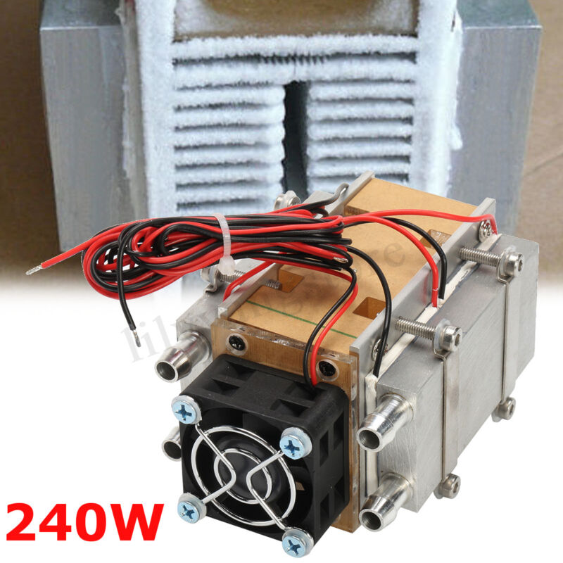 240W Semiconductor Refrigeration Diy Air Cooling Conditioner Water-cooled Device
