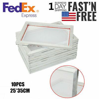 Aluminum Screen Print Frame 1014 Frame White Mesh Usa Screens Diy Silk 22n Kit