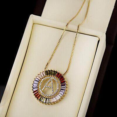 Micro Pave A-Z Initial  CZ Copper Letter Beads Pendant DIY  Women Necklace](Letter Z Crafts)