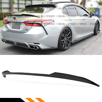 FOR 18-19 TOYOTA CAMRY SE XSE LE XLE GLOSSY BLK M4 STYLE TRUNK LID SPOILER WING