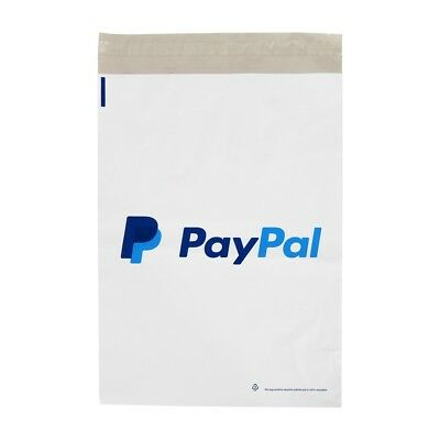 50 x Strong White PayPal Mailing Postal Poly Postage Bags 10x14