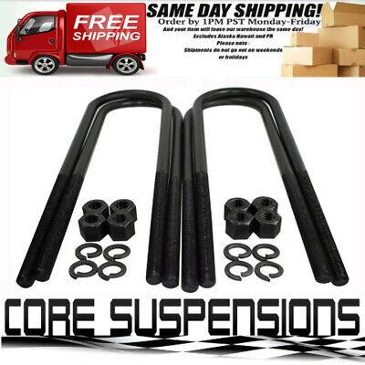 """12/"""" U bolts for 07-17 Tundra 3/"""" Suspension Lift U Bolts 4PCS 2WD 4WD"""