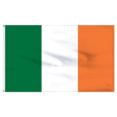 3x5 Ireland Irish Flag 3'x5' House Banner Grommets Quality Fade Resistant poly - Ireland Flags