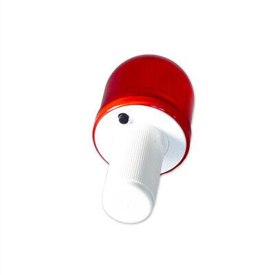 Overtank Luminaria Rojo Para Plegable Conos