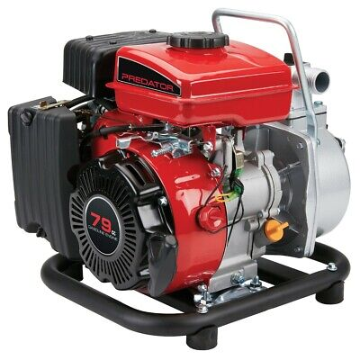 Used, 1 in. 79cc Portable Gasoline Engine Clear Water Pump 35 GPM Low Oil Quick Start for sale  Shipping to South Africa