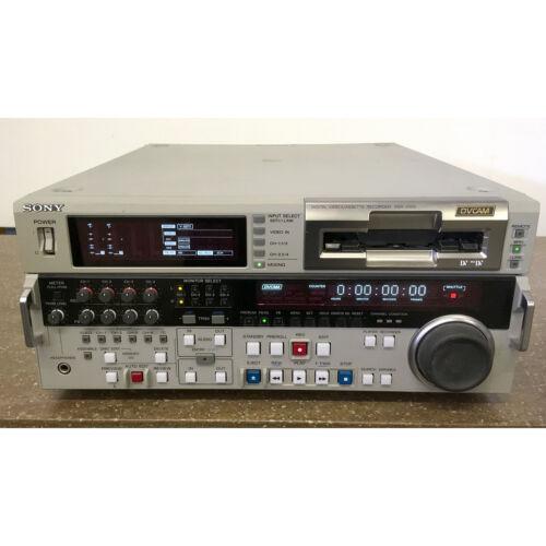Sony DSR-2000 DVCAM Player/Recorder Digital Video Cassette Recorder