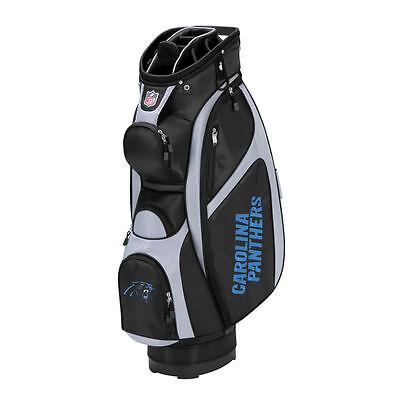 New Carolina Panthers NFL Wilson Cart Golf Bag (Carolina Panthers Golf Cart Bag)