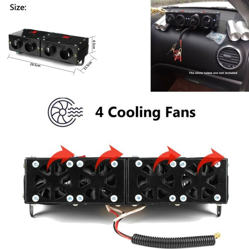 Warm Car 12V 150W 300W Car Portable Adjustable Heating Heater Fan Demister
