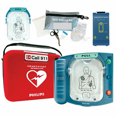 New Philips Heartstart Onsite Aed M5066a Hs1 2022 Pads 5 Year Warranty