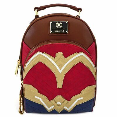 DC Comics by Loungefly -  Justice League Wonder Woman Cosplay Mini Backpack Wonder Woman Mini