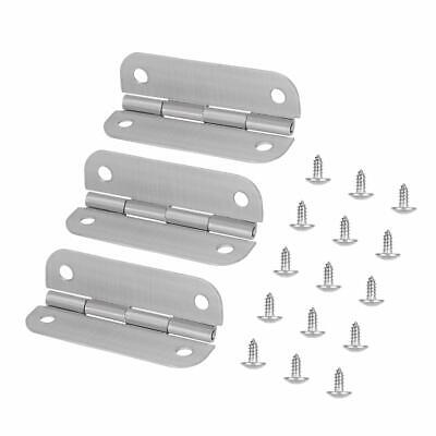 3PCS Stainless Steel Cooler Hinges & Screws Replacements for Igloo Cooler Parts