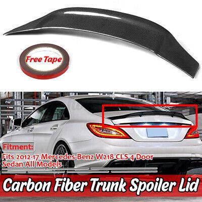 Echte Carbon Fiber Heckspoiler Heckflügel Spoiler für Mercedes W218 CLS63