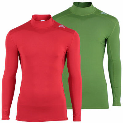 adidas Herren Techfit Base Langarm Shirt Sportunterhemd Fußball Laufen Fitness