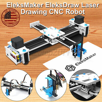 Eleksmaker 2 Axis Mini Laser Engraving Drawing Machine Cnc Laser Printer
