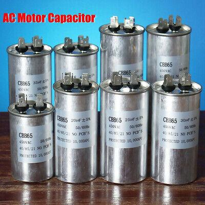 20-40uf Cbb65 Air Oil Motor Conditioner Compressor Start Capacitor 450v
