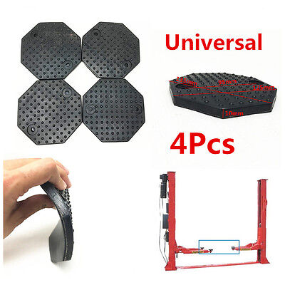 4Pcs Octagon 135*10mm Rubber Arm Pads Car Lift Accessories for Auto Truck Hoist