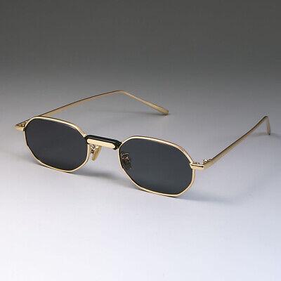Steampunk Sunglasses Small Metal Frame Men Women Brand Designer Retro (Vintage Brand Sunglasses)