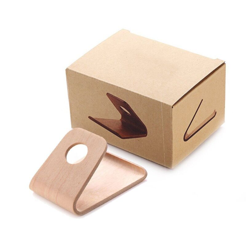 Wood Holder Table Stand for iPhone 6 plus 4.7-5.5'' 5S Samsu