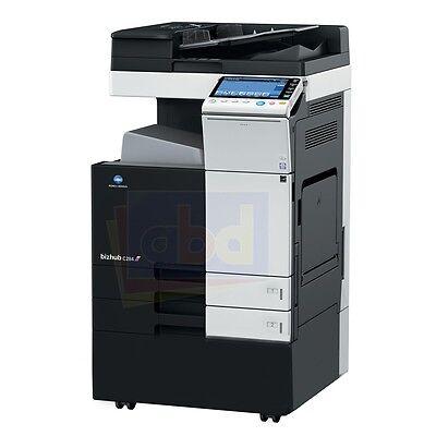 Konica Minolta Bizhub C284 A3 Color Laser Copier Printer Scanner Mfp 28 Ppm C364