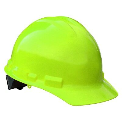 Radians Hard Hat Cap Style With 6 Point Ratchet Suspension Hi-vis Green