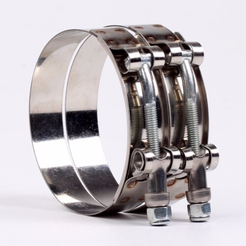 """1.75/"""" UNIVERSAL STAINLESS STEEL ZINC COATED RACING T BOLT CLAMP x1"""