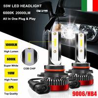 9005 HB3 110W 20000LM Lampadine Lampade a Auto LED Faro KIT Ricambio Xeno Luci