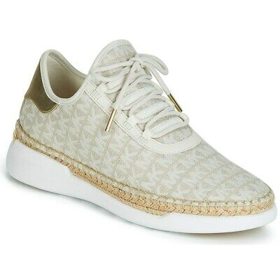 Michael Kors Womens Finch LaCE UP Canvas Low Top Lace Up Fashion Sneakers