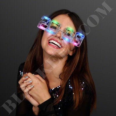 2019  NEW YEARS EVE MultiColor Flashing LED Fashion Novelty Sunglasses](New Years Eve Novelties)