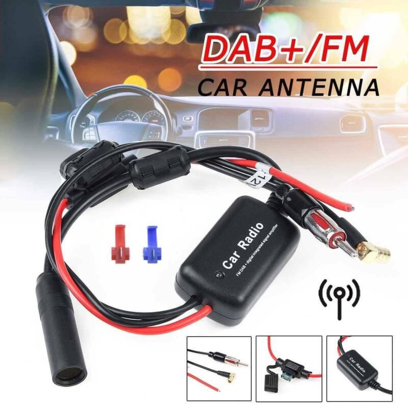 DAB+ Antenne Splitter Radio Adapter FM Antennenverstärker Und Frequenzweiche Neu