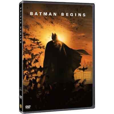 PELICULA DVD BATMAN BEGINS PRECINTADA