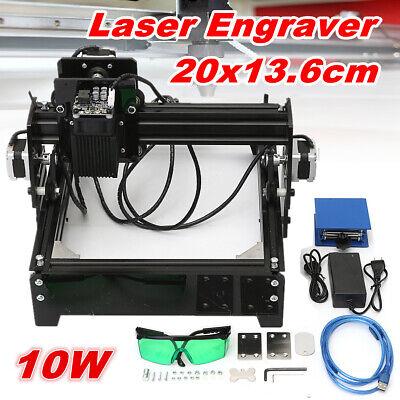 10w Usb Desktop Cnc Laser Engraving Machine 12v Engraver Image Craft Printer Us