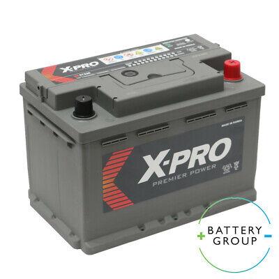 096 MF57220 Hankook Car Battery 12V 72Ah - 278x175x190mm X-Pro Replacement