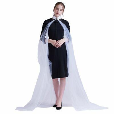Fairy Queen Dress (Fairy Elf Lady Cape Wedding Dress Elven Queen Princess Collared Cloak 5)