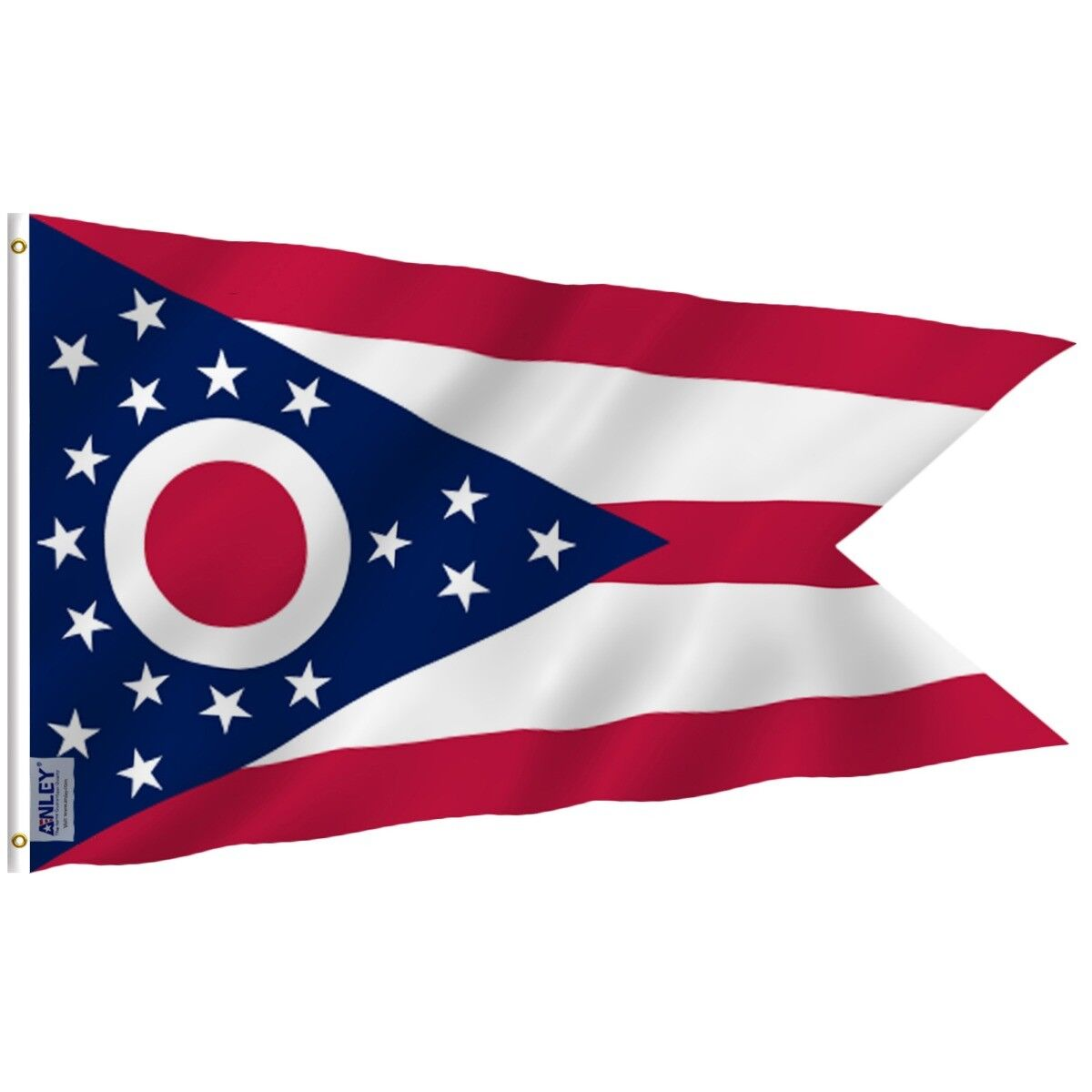 ANLEY Ohio State Flag OH Banner States of US Flags Polyester