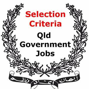 Apply for a Government Jobs with the right Selection Criteria Brisbane City Brisbane North West Preview
