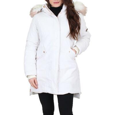 Jessica Simpson Women's Water Resistant Drawstring Winter Parka Coat