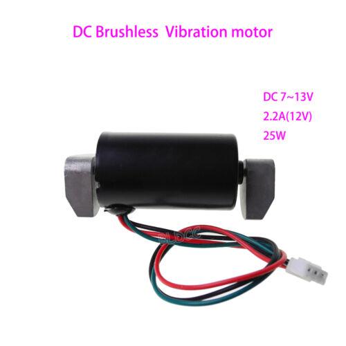 DC 12V Brushless Vibration Motor BLDC 25W PWM Vibrating Motor Dual Ball Bearings