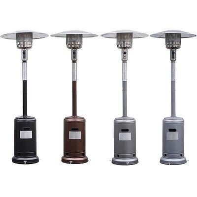 Heater Accessories - Garden Outdoor Patio Heater Propane Standing LP Gas Steel w/accessories New