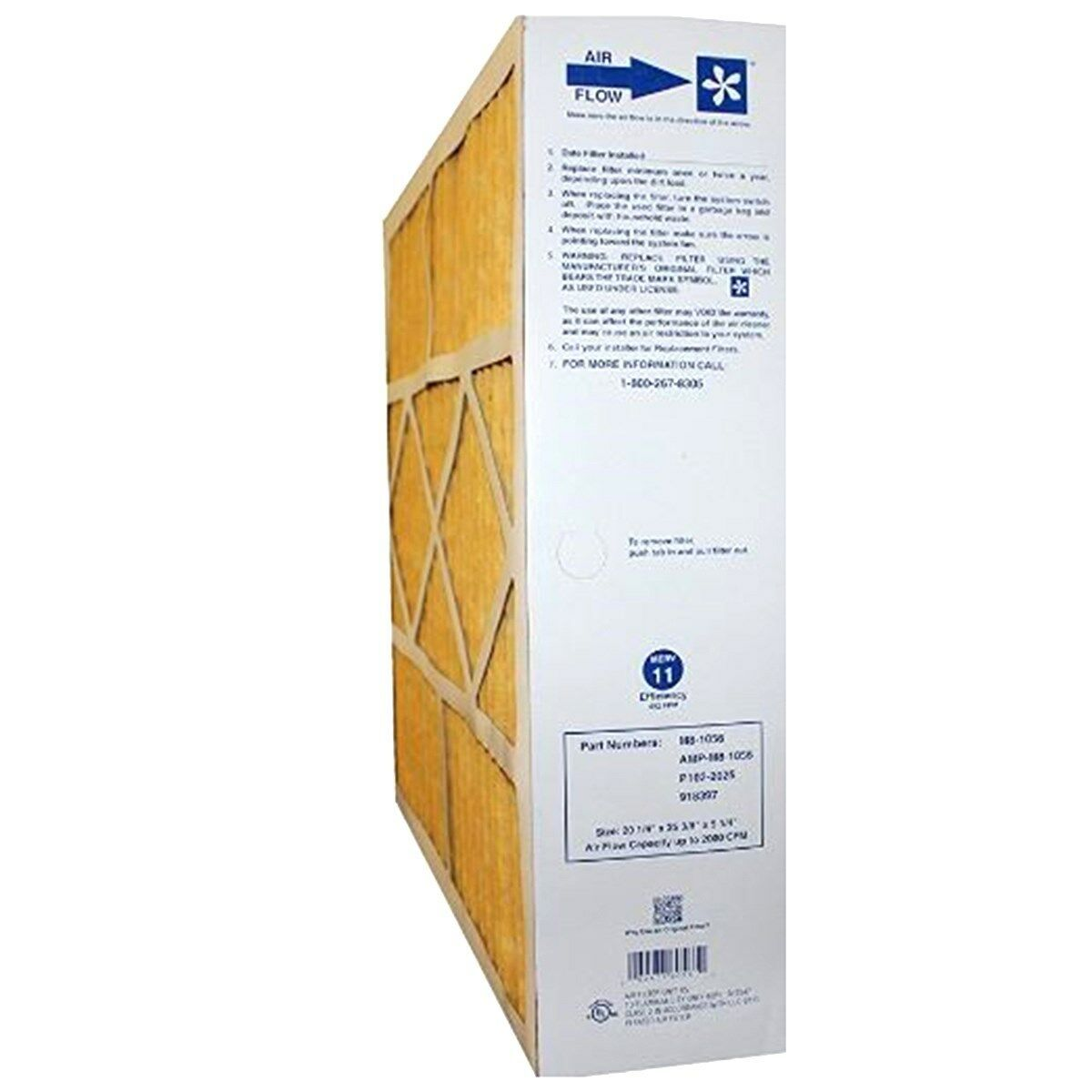 Goodman M8-1056 2 Pack OEM Merv 11