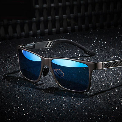 Men Polarized Aluminium Sunglasses Outdoor Driving Sun Glasses Sport (Aluminum Eyewear)