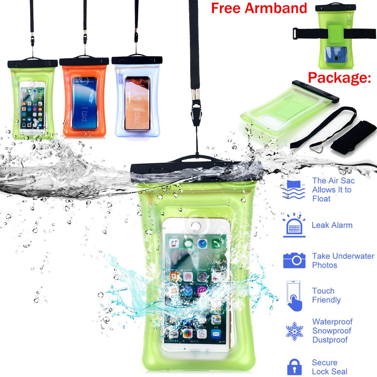 Floating Travel Waterproof Underwater Pouch Dry Bag Case Cov