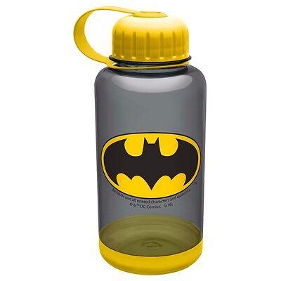 Batman Logo DC Comics 24 Oz. Water Bottle With Grip - Water Bottle With Logo
