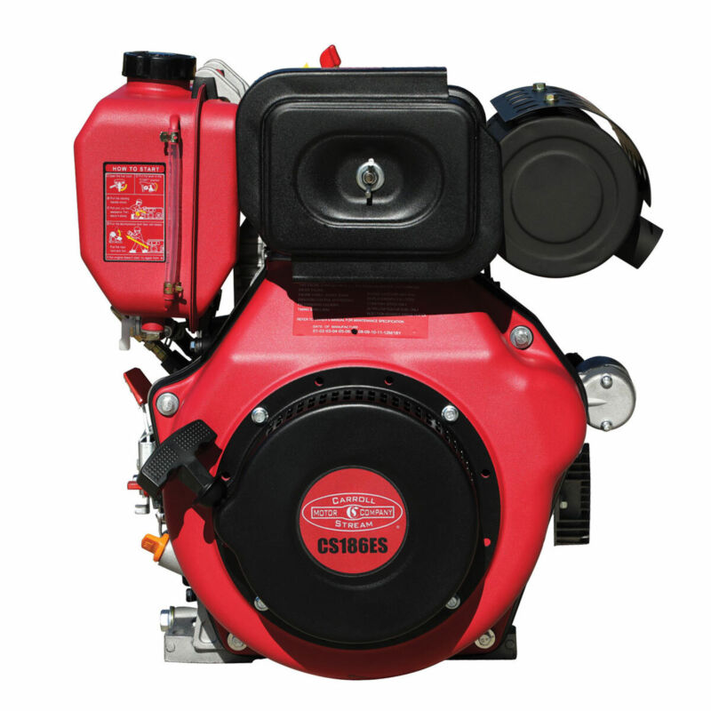 New 10HP Small Diesel Engine with Electric Start 10 HP