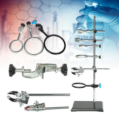 Us 60cm Laboratory Stands Support Lab Clamp Flask Clamp Condenser Clamp
