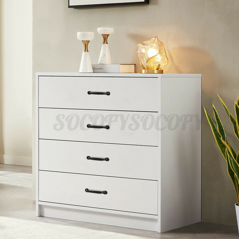 Chest Of Drawers Wooden Dresser Living Bedroom Bedside Table Storage Furniture