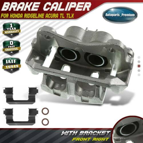 Brake Caliper W/ Bracket For Honda Ridgeline Acura TL TLX