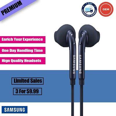 New Original Samsung Galaxy S6 S7 S8 S9 Note 6 7 8 Headphones Headset Earphones